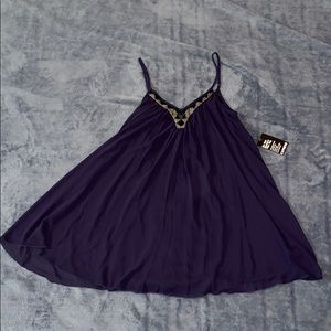 Express purple dress